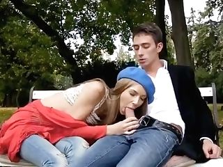 Park Bang-out With A Euro Teenager