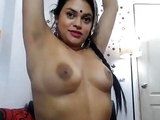 Indian Wifey Taunts On Web Cam When Spouse Is Out