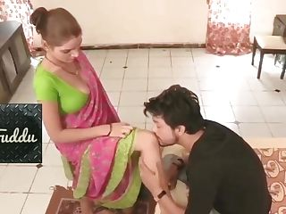 Greatest Desi Aunty Big Knockers Fucked By Youthfull Man